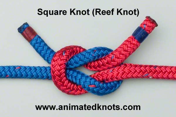 1_Plakanais mezgls_square_knot