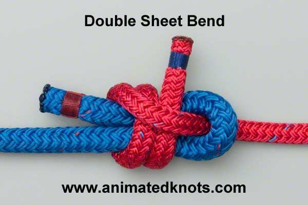 5_Dubultais šotes mezgls _ Double sheet bend